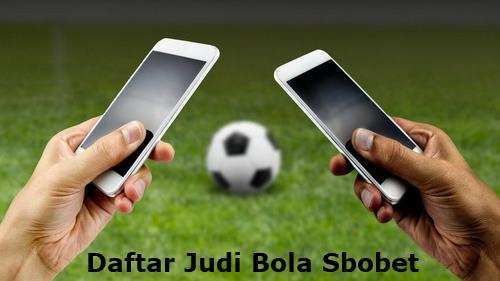 daftar judi bola Sbobet online